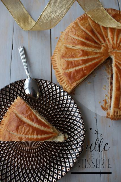 Pâtisserie de janvier : galette des rois praliné-chocolat