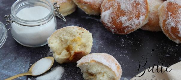 Recette de Mardi-Gras légère : beignets au four sans huile