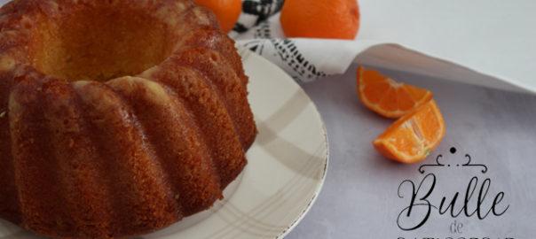 Recette facile : Bundt Cake à la clémentine