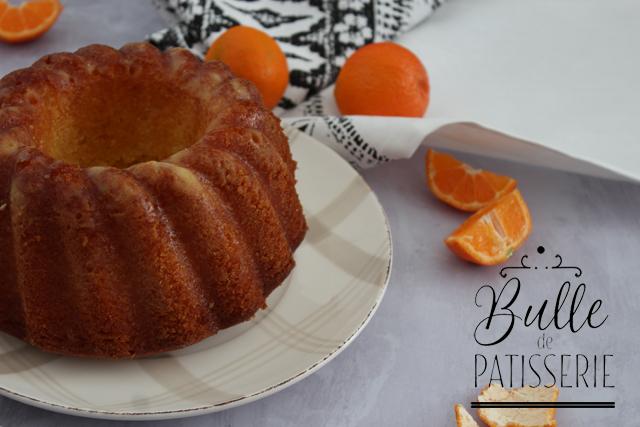 Bundt Cake à la Clémentine
