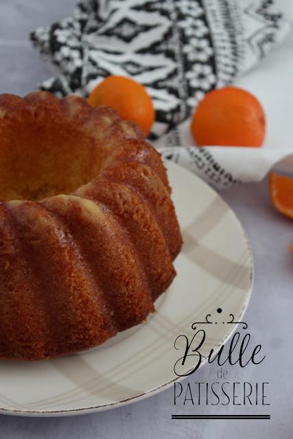Cake ultra moelleux d'hiver : le Bundt Cake à la clémentine