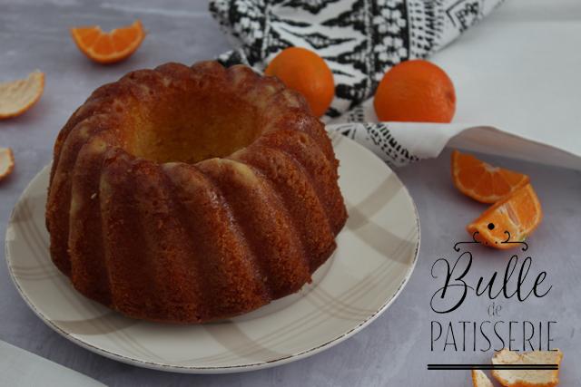 Bundt Cake moelleux et parfumé à la clémentine