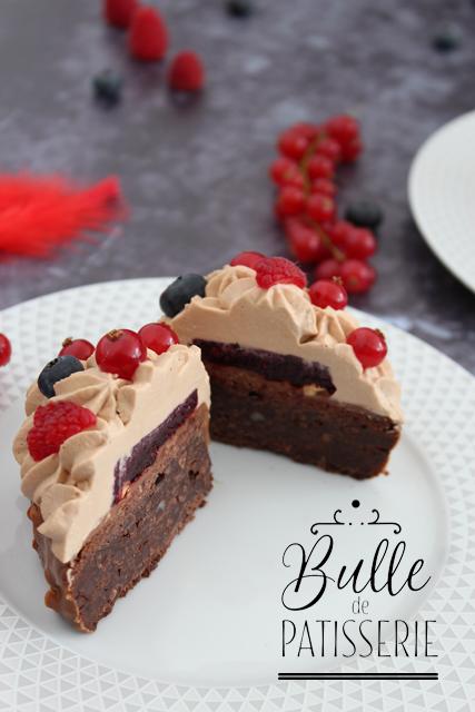 Coeurs gourmands pour la St Valentin : Chocolat & Fruits Rouges