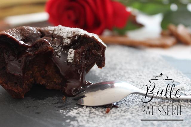 Recette de la Saint Valentin : fondant au chocolat cœur spéculoos