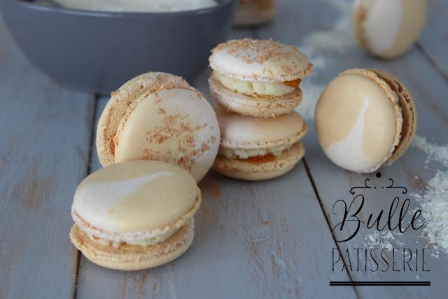 Macarons Passion-Coco