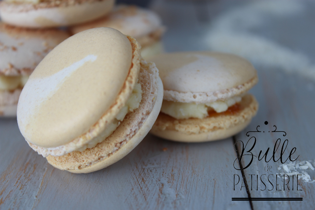 Recette de macarons : saveurs fruits de la passion et noix de coco