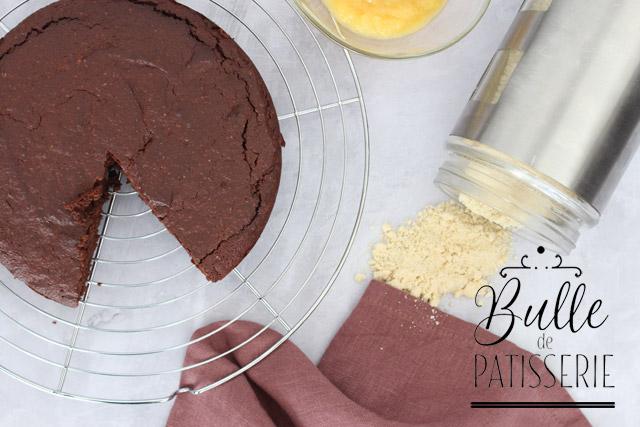 Gâteau au chocolat sans beurre et sans gluten