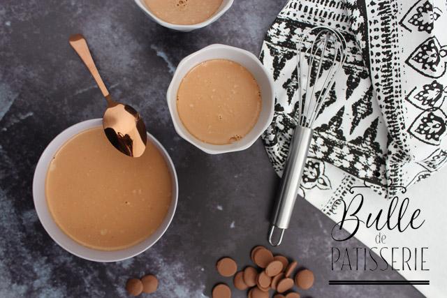 Crème dessert facile : PannaCotta au chocolat