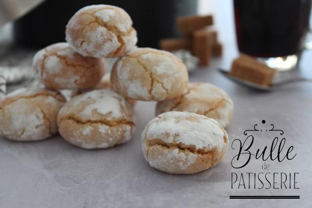 Recette facile de biscuits : amaretti aux agrumes