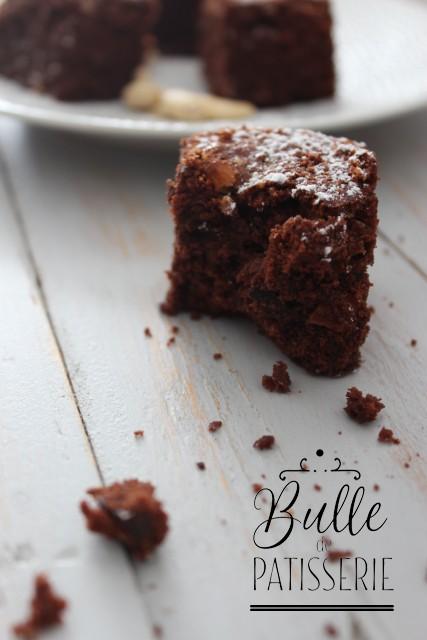 Recette de P. Conticini : brownies aux noix de cajou caramélisées