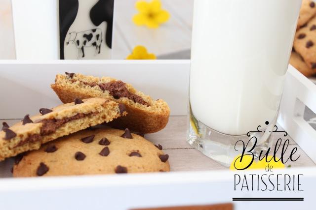 Recette facile : cookies fourrés à la pâte à tartiner maison