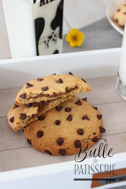 Recette de goûter : cookies fourrés chocolat-noisette