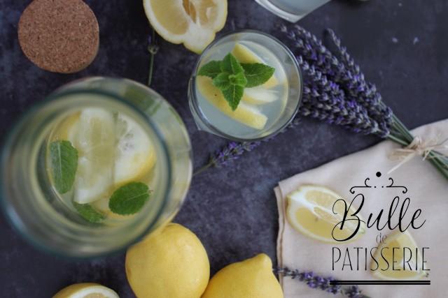 Recette de boisson fraîche express : citronnade et limonade maison