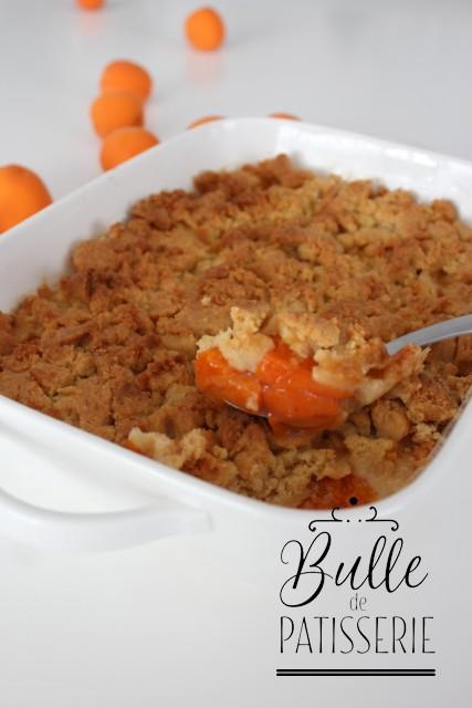 Recette d'été express : Crumble abricots-amande