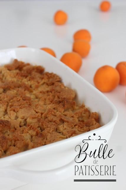 Dessert maison facile : crumble aux abricots et à l'amande