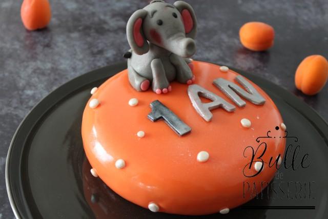Recette d'entremets maison : Abricot-Vanille
