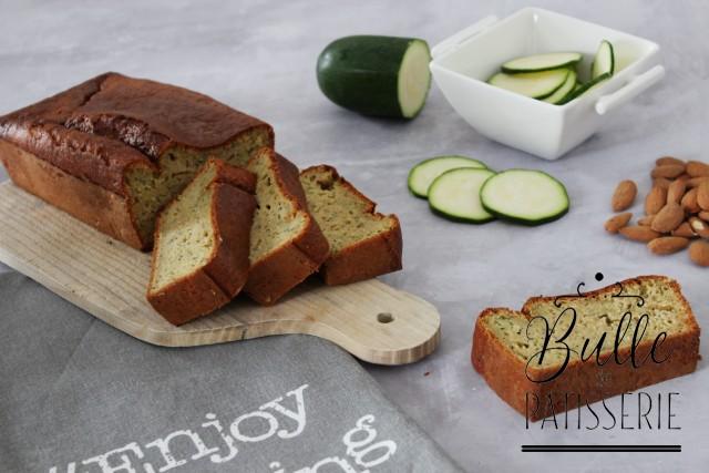Pâtisserie originale : gâteau courgette-amande