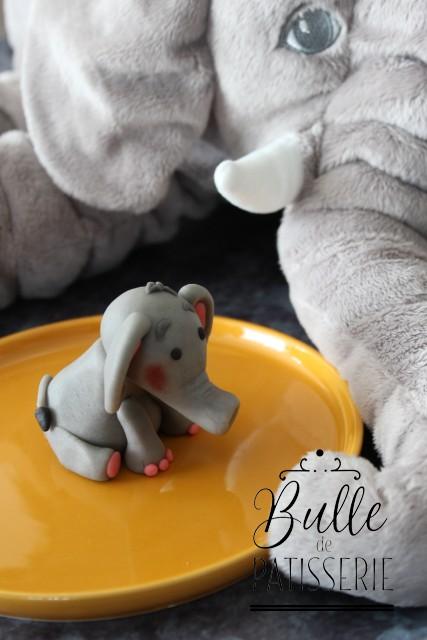 Comment faire un animal en pâte à sucre ? Modeler un éléphant