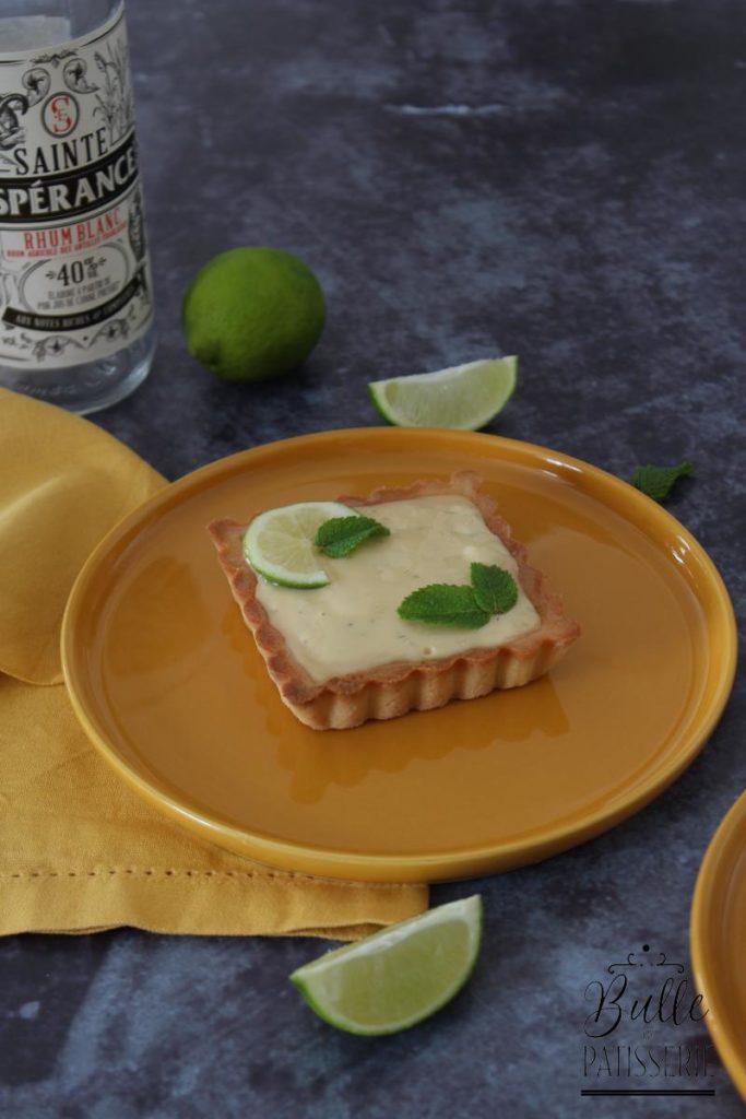 Dessert Mojito : la tarte