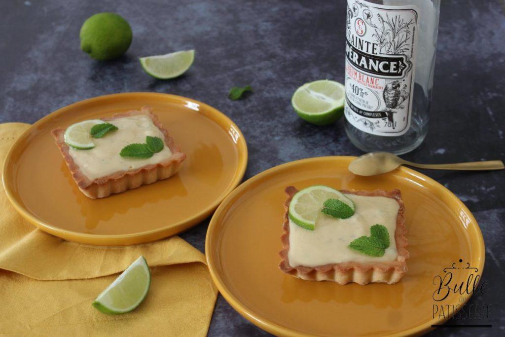 Recette facile : la tarte citron façon Mojito