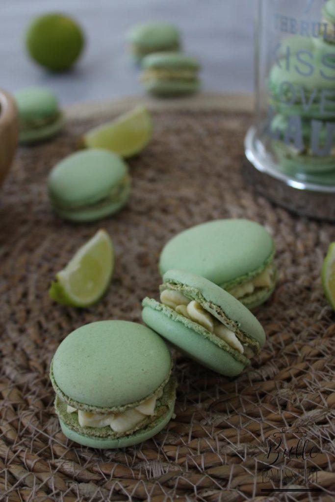 Recette de ganache citron vert et gingembre pour macaron