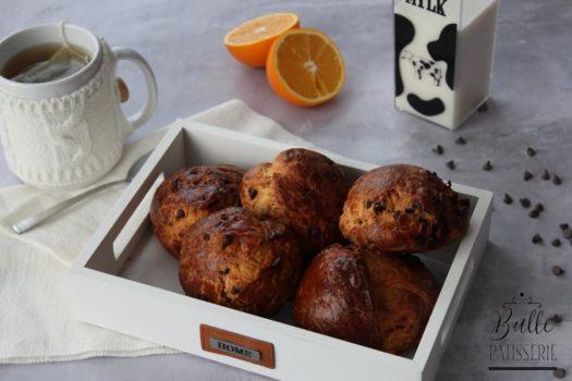 Recette facile : brioches aux pépites de chocolat pour le petit-déjeuner