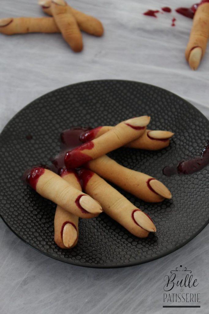 Dedos de bruja (doigts de sorcière)
