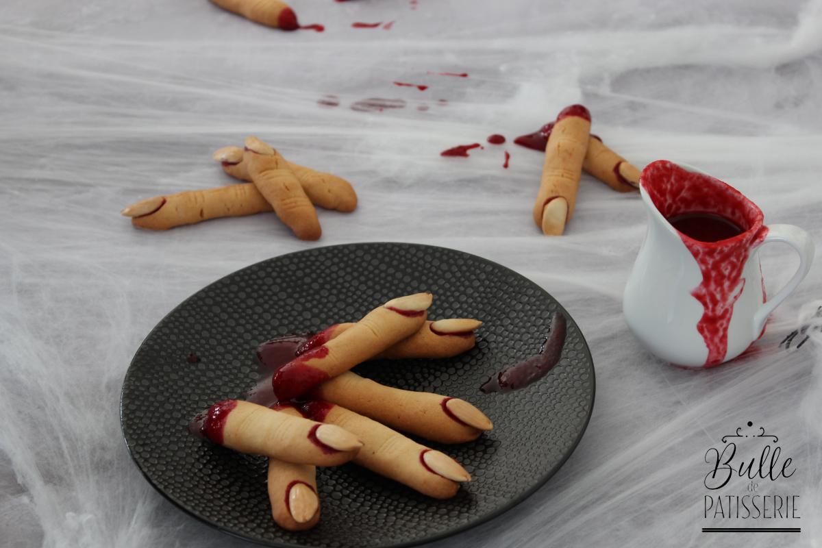 Recette d'Halloween : doigts de sorcière