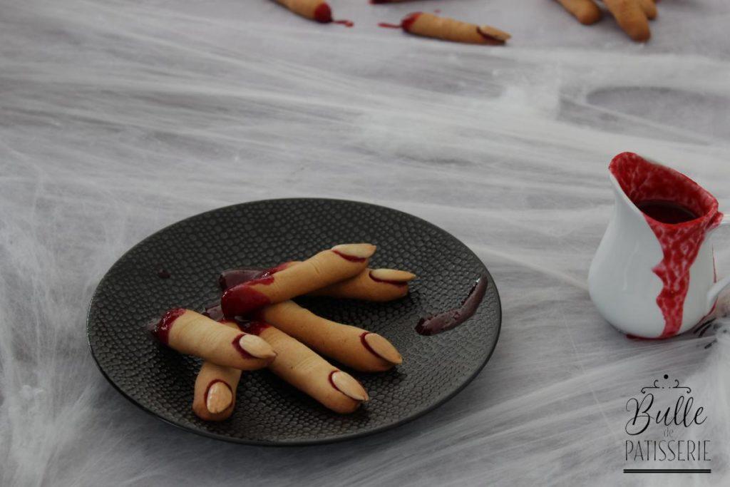 Recette de doigts sucrés pour Halloween