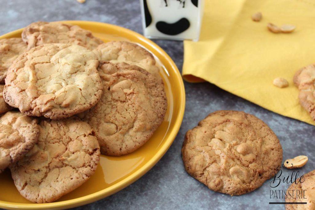 Biscuits croquants aux cacahuètes