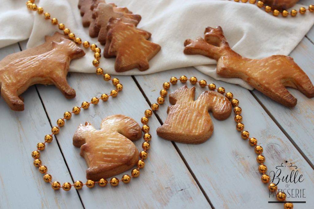 Petits gâteaux de Noël au beurre : les butterbredele