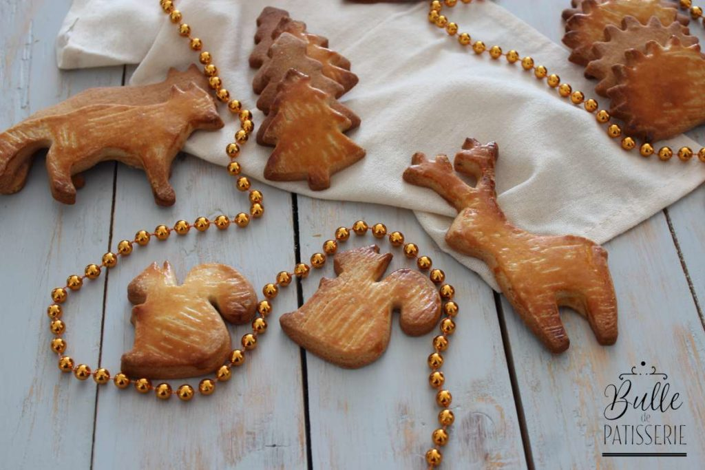 Noël alsacien : bredele au beurre