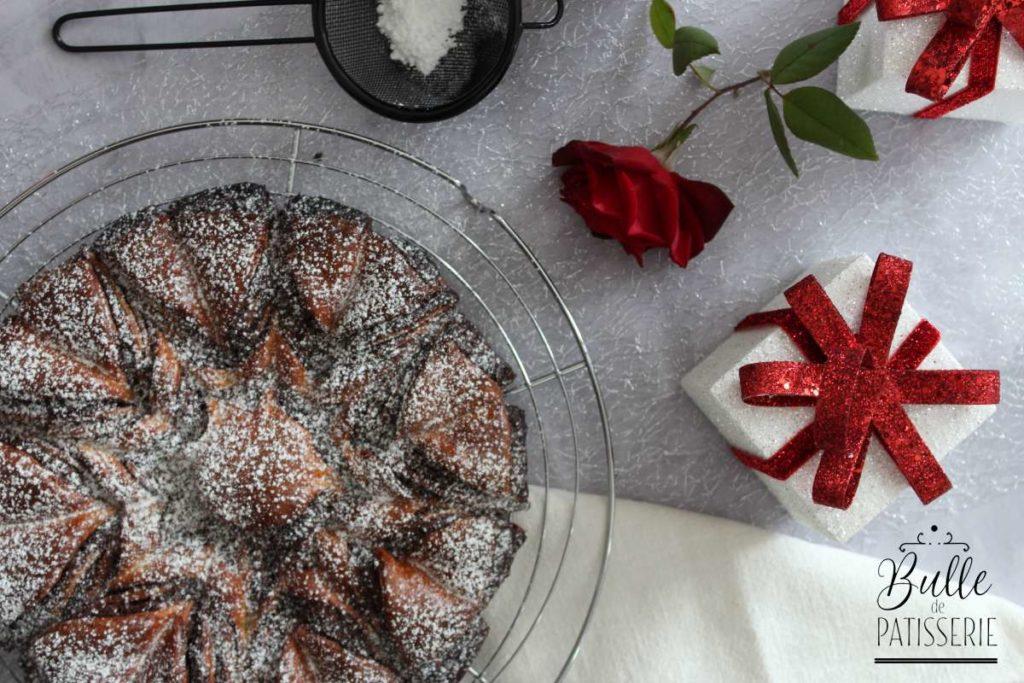 Recette de brioche fleur au nutella