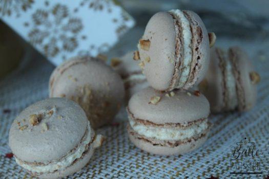 Ganache praliné noisettes pour macarons