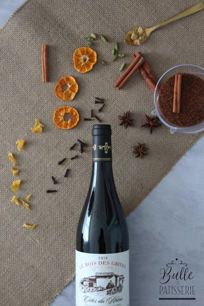 Idée Cadeau de Noël : Kit Vin Chaud / Kit Jus de Pomme Chaud