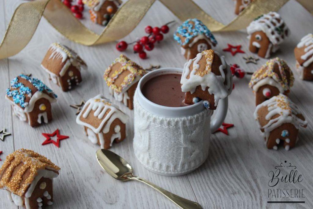 Recette de Noël : maisons miniatures en pain d'épices