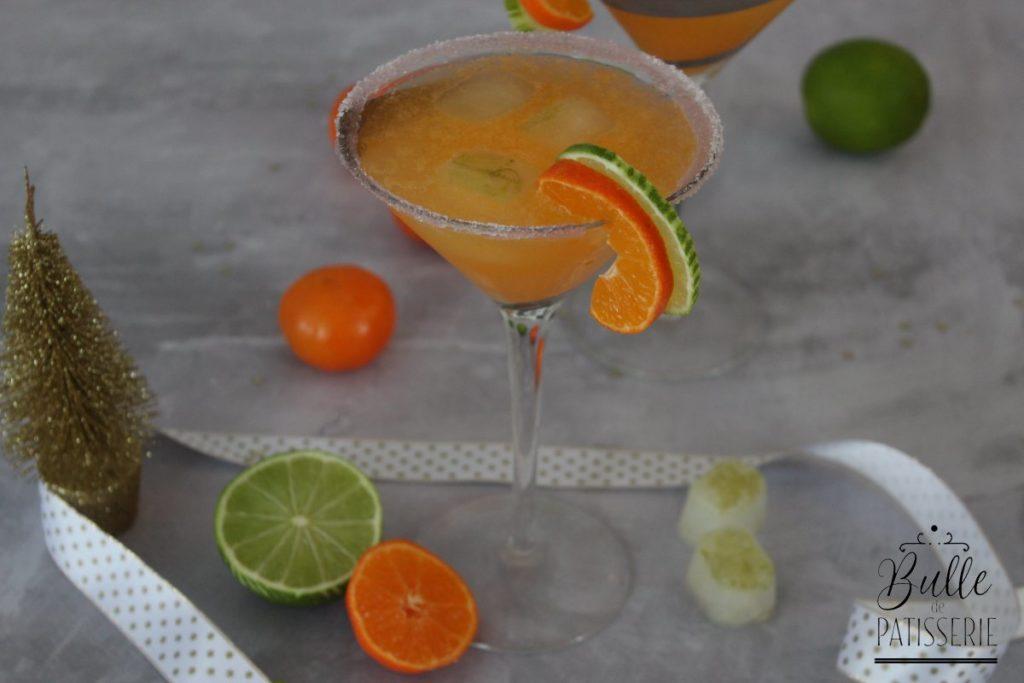 Boisson sans alcool : cocktail de Noël à la clémentine