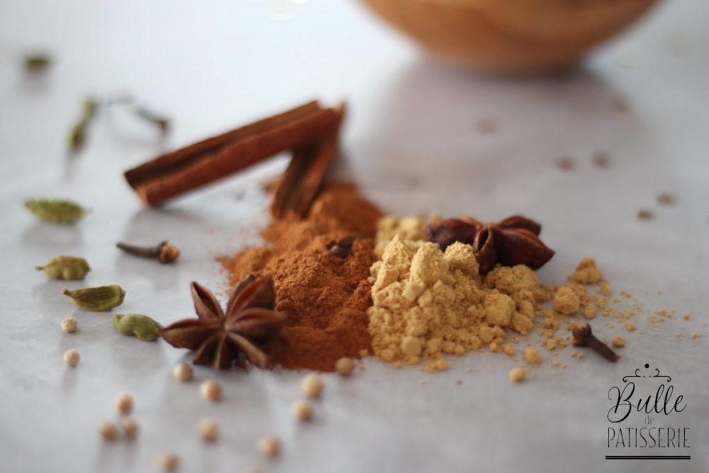 Composition de la poudre d'épices à pain d'épices