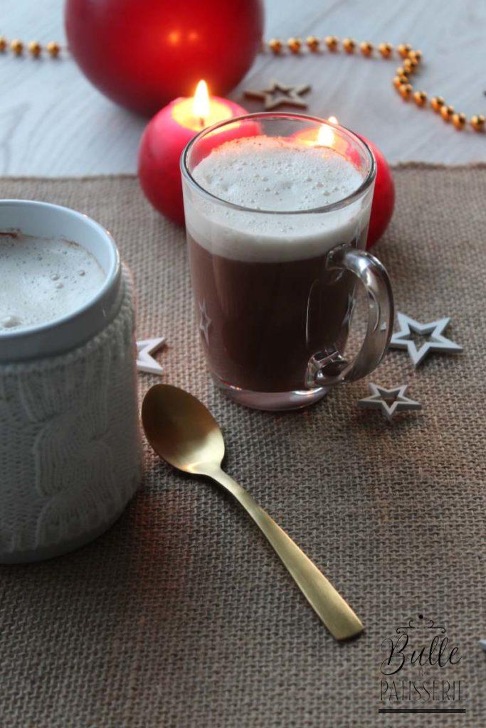 Recette du Chocolat chaud à l'espagnol et sa mousse de lait