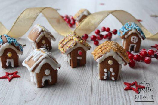 Recette des mini-maisons en pain d'épices et glaçage royal