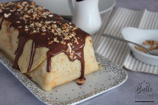 Recette Chandeleur : cake de crêpes