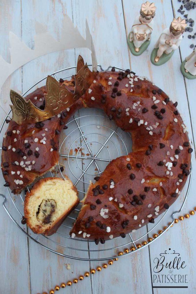 Épiphanie : Galette des Rois briochée Chocolat-Frangipane