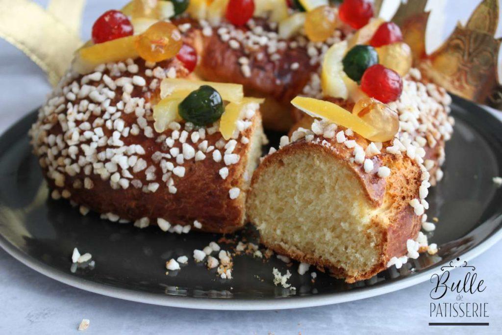 Gâteau des rois provençal brioché