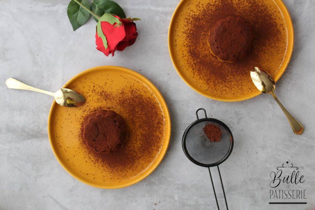 Dessert rapide : coeur coulant au chocolat et gianduja