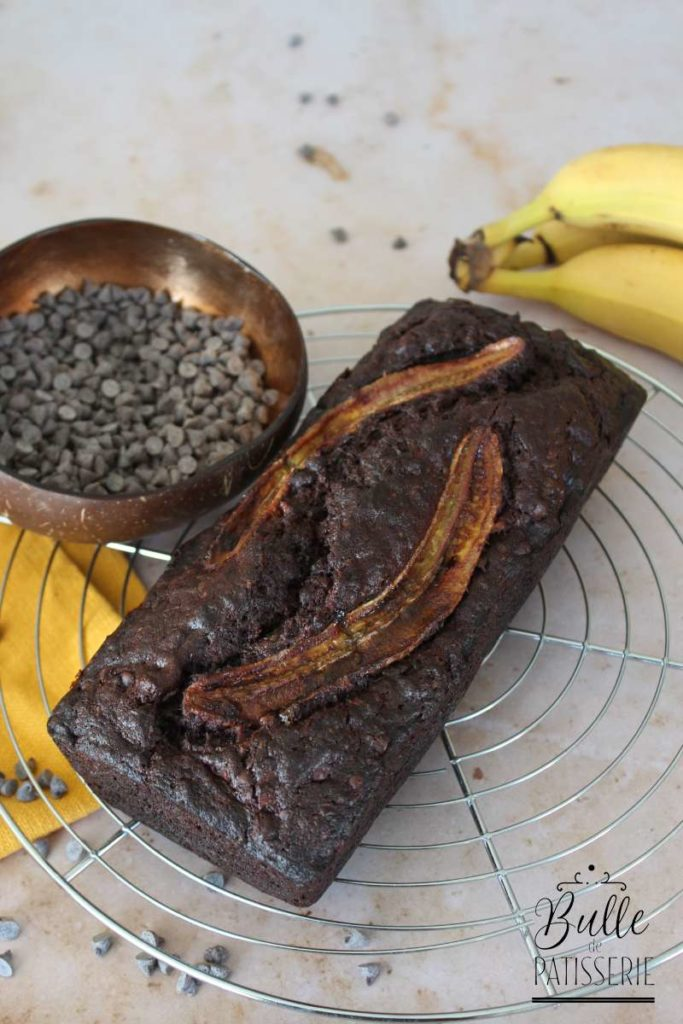 Recette de Cake : Banana Chocolate Bread