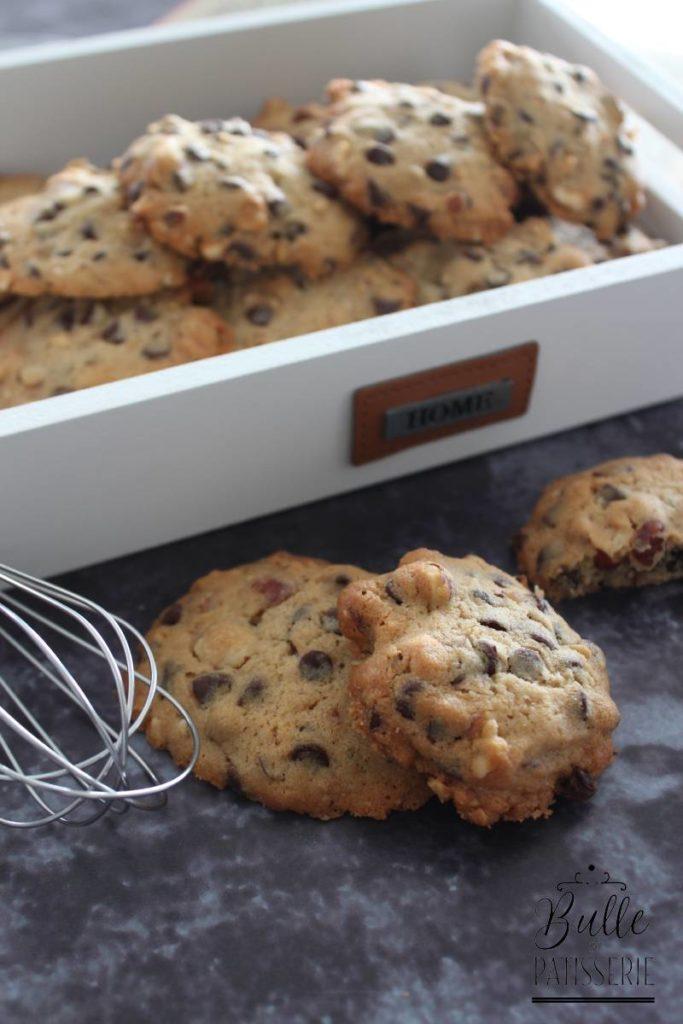 Recette des cookies Noisette-Chocolat