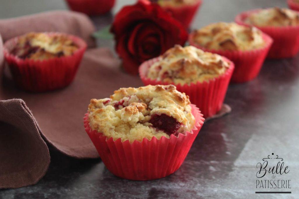 Recette pour le goûter : muffins chocolat-framboise