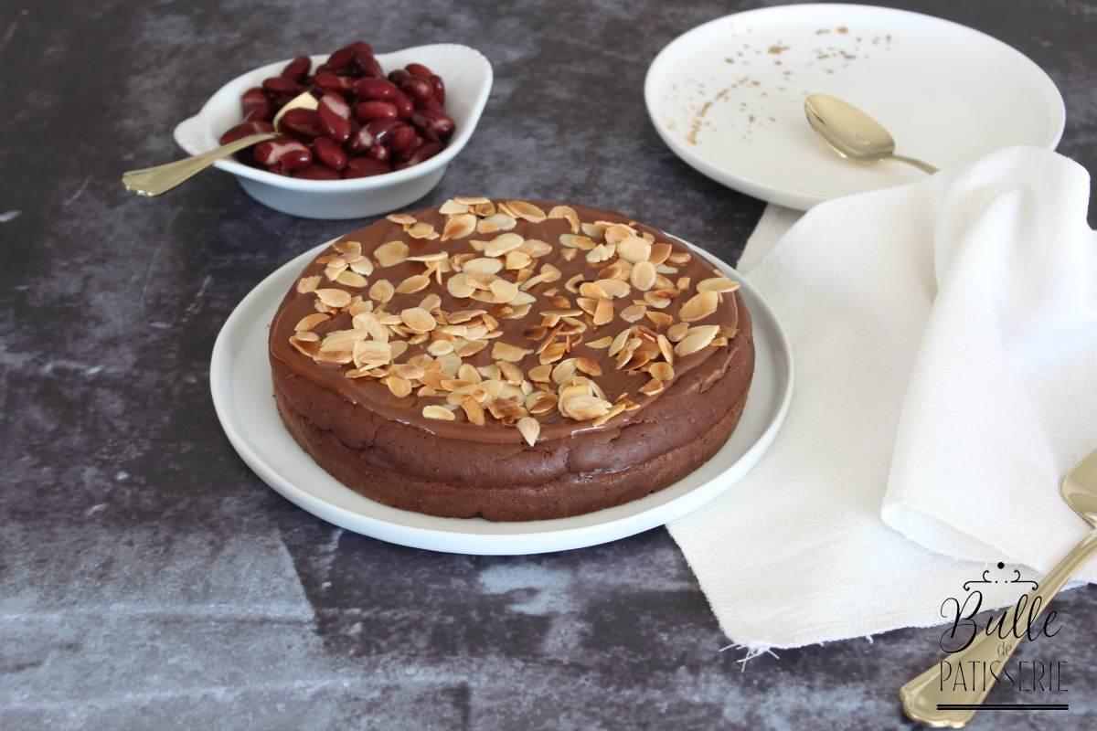 Recette Vegan : Gâteau fondant au chocolat et aux haricots rouges