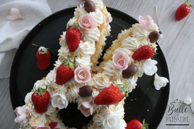 Bunny Cake Fraise-Chocolat blanc
