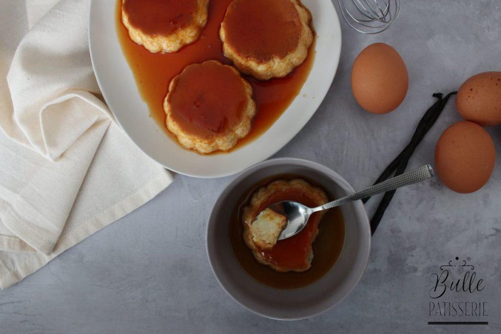 Recette facile : œufs au lait caramel